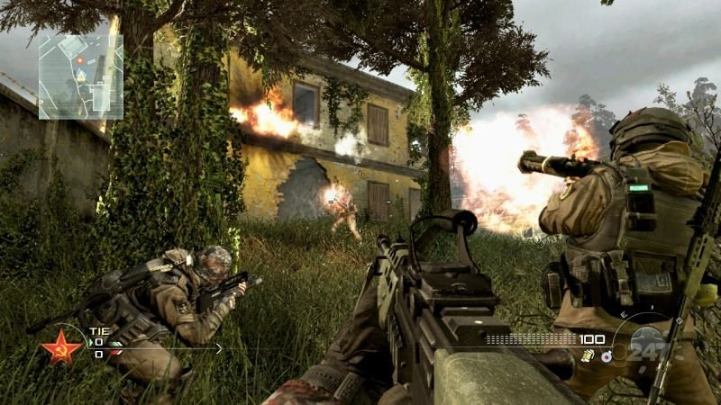 Coop a 4 per Call of Duty: Black Ops