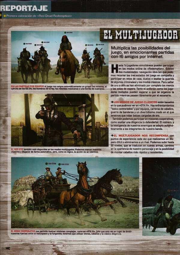 I dettagli del multiplayer di Red Dead Redemption, primi scans