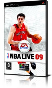 NBA Live 09 per PlayStation Portable