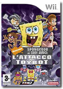 Spongebob e i Suoi Amici: L'Attacco dei Toybot per Nintendo Wii
