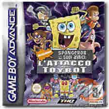 Spongebob e i Suoi Amici: L'Attacco dei Toybot per Game Boy Advance