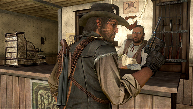 Nuove immagini dal Western Red Dead Redemption
