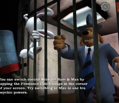 Sam & Max Episode 1: The Penal Zone disponibile per iPad