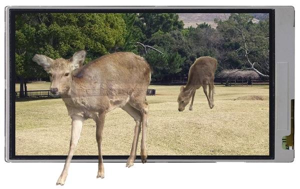 Sharp sugli schermi 3D senza occhiali (come Nintendo 3DS)