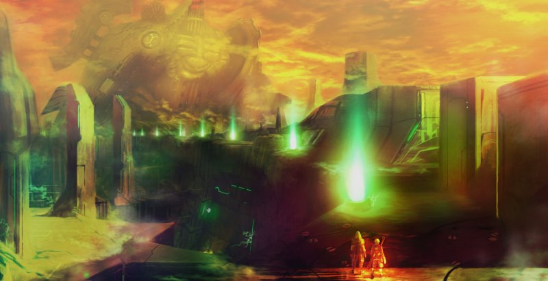 Tre nuovi artworks di Xenoblade
