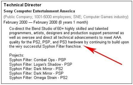 Syphon Filter in sviluppo dal 2008?