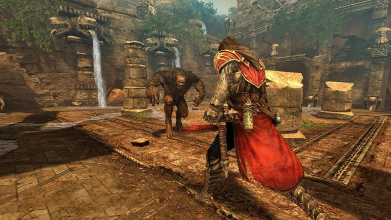 Castlevania: Lords of Shadow su due dischi per X360