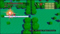 3D Dot Game Heroes - Filmato di gioco Overworld