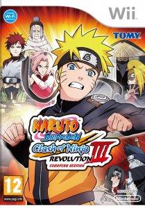 Naruto Shippuden: Clash of Ninja Revolution III per Nintendo Wii
