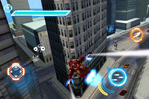 Primi screenshot per Iron Man 2 su iPhone