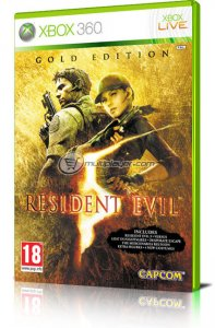 Resident Evil 5 Gold Edition per Xbox 360