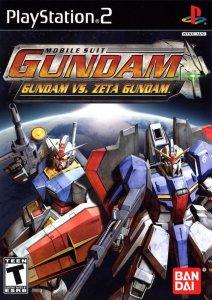 Mobile Suit Gundam vs Z Gundam per PlayStation 2