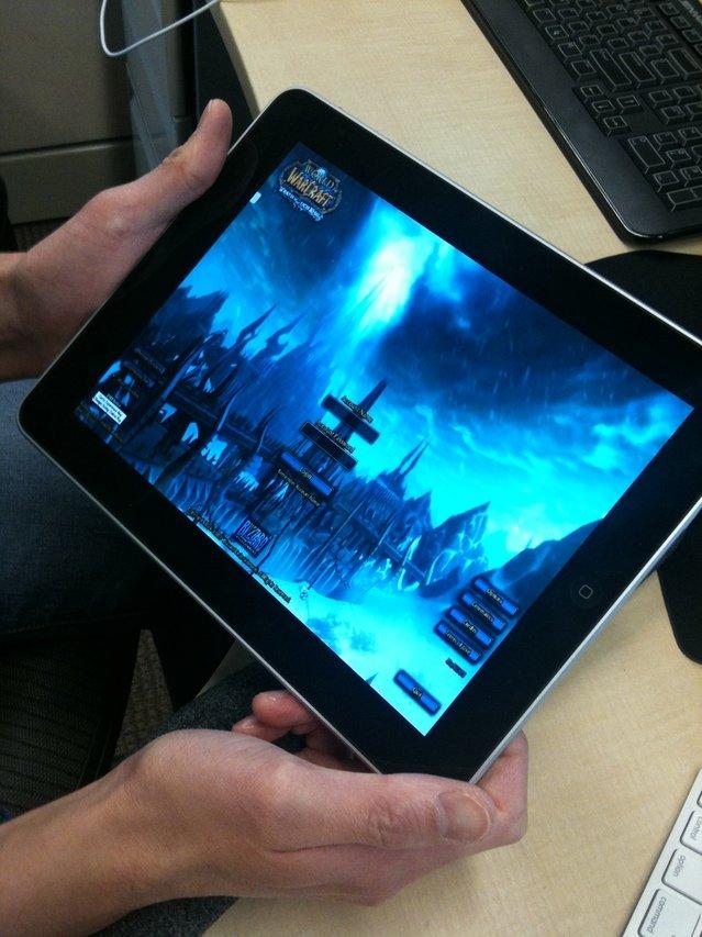 World of Warcraft sull'iPad grazie a Gaikai