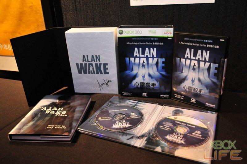 Immagini dalla Limited Edition di Alan Wake