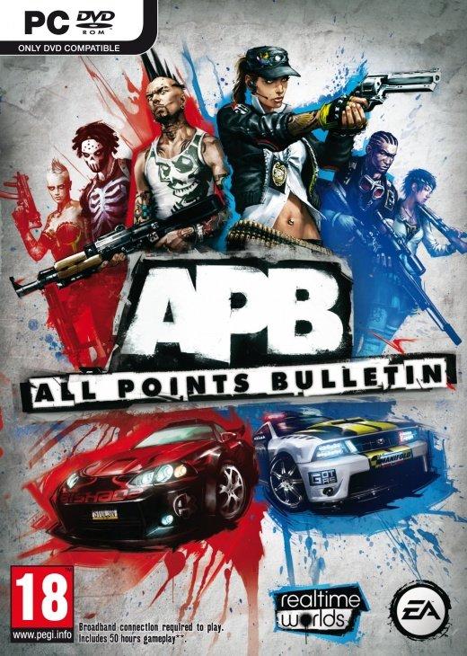 Svelato il packshot ufficiale di APB (All Points Bullettin)