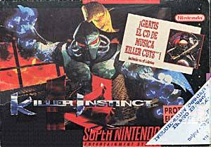 Killer Instinct per Super Nintendo Entertainment System