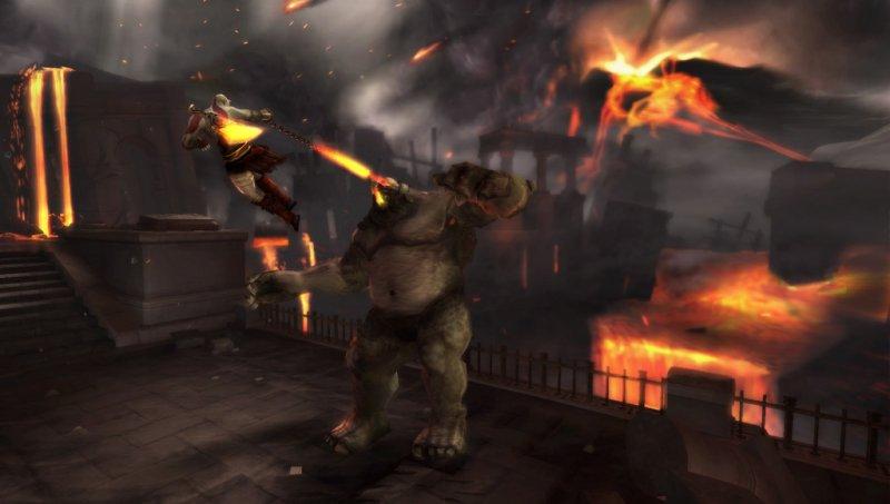 GoW: Ghost of Sparta, la miglior grafica su PSP