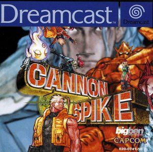 Cannon Spike per Dreamcast