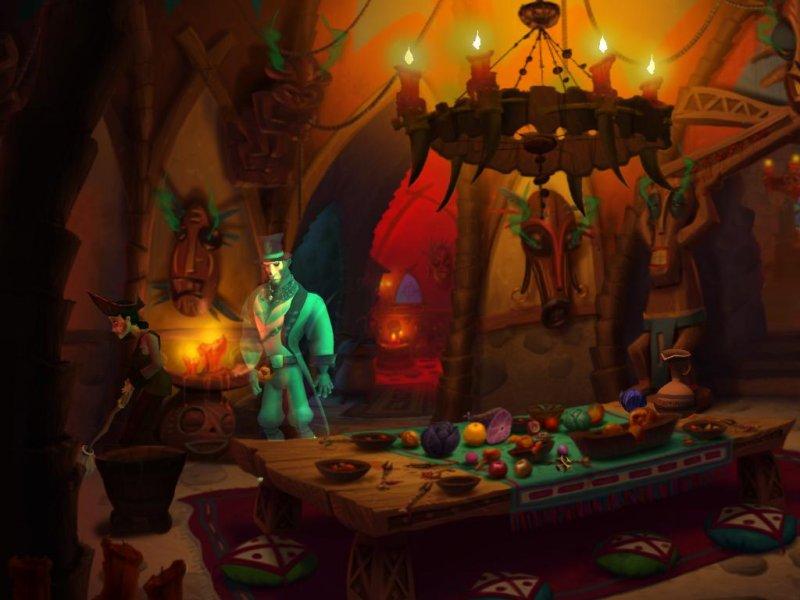 La soluzione di Ghost Pirates of Vooju Island