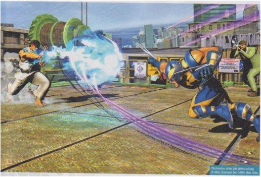 Primi scans per Marvel VS Capcom 3