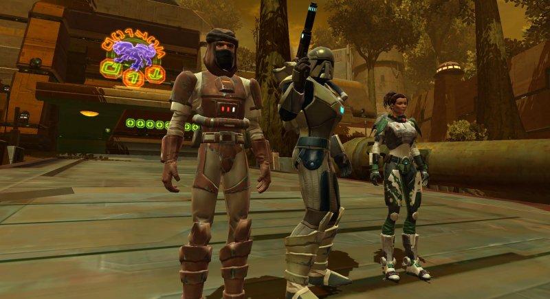 Combattimenti spaziali in Star Wars: the Old Republic