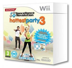 Dance Dance Revolution: Hottest party 3 per Nintendo Wii