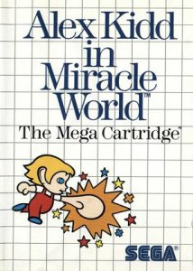 Alex Kidd in Miracle World per Sega Master System