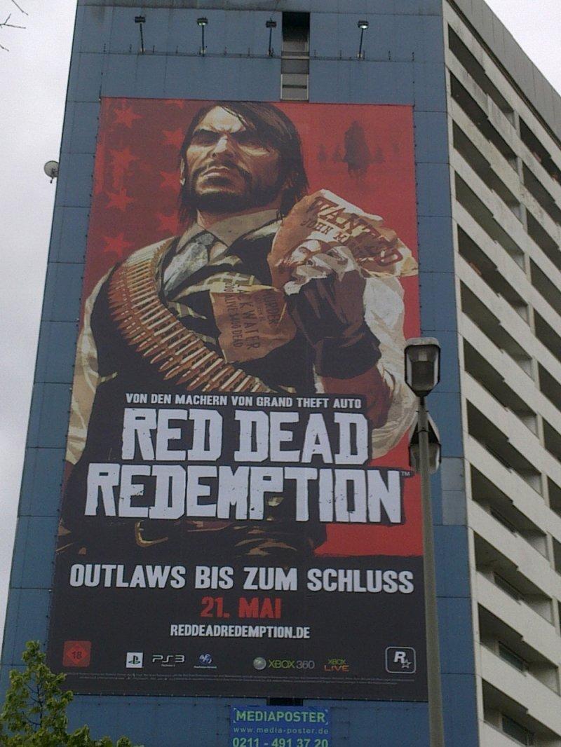"Spot ""a palazzo"" per Red Dead Redemption in Germania"
