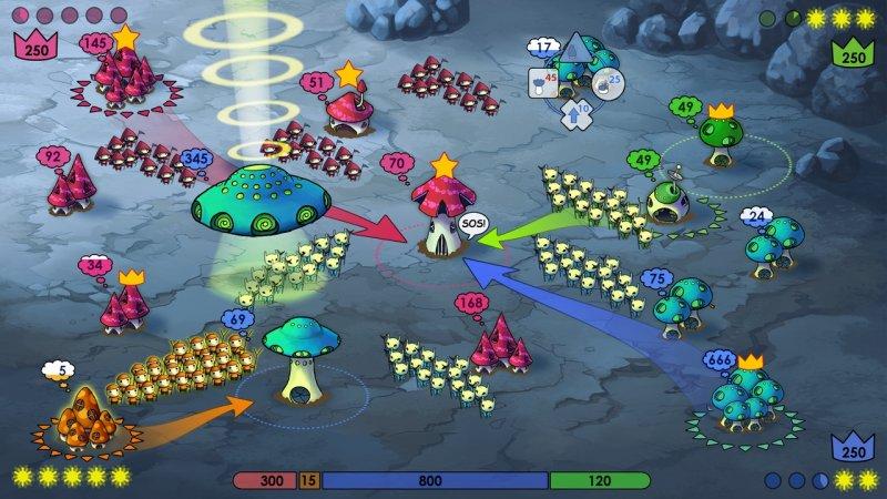 La guerra dei funghi