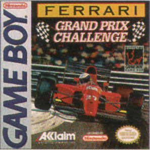 Ferrari Grand Prix Challenge per Game Boy