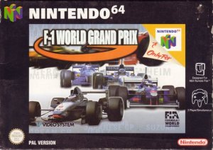 F1 World Grand Prix per Nintendo 64