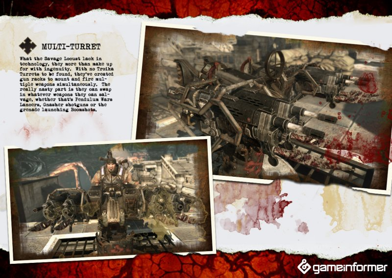 Le nuove armi di Gears of War 3 in immagini