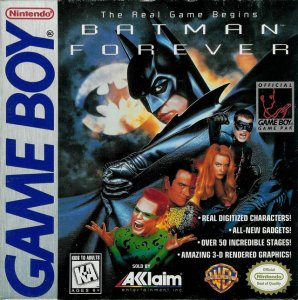 Batman Forever per Game Boy