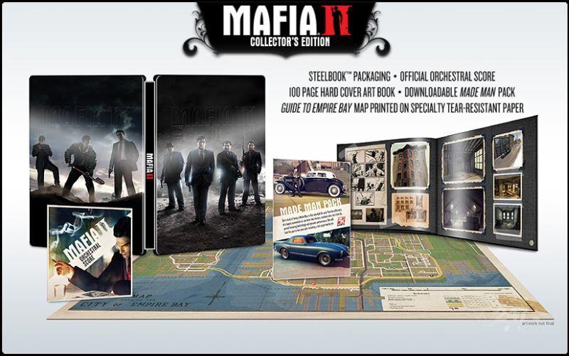 Edizione da collezionisti per Mafia II