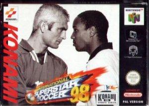 International Superstar Soccer '98 per Nintendo 64
