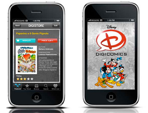 Disney Digicomics arriva anche su iPad