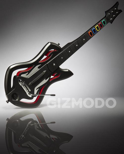 Le nuove, strane chitarre per Guitar Hero: Warriors of Rock