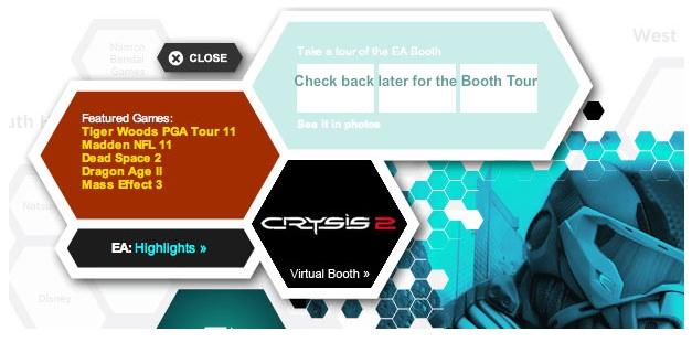 Una mappa interattiva rivela Dragon Age 2 e Mass Effect 3 all'E3