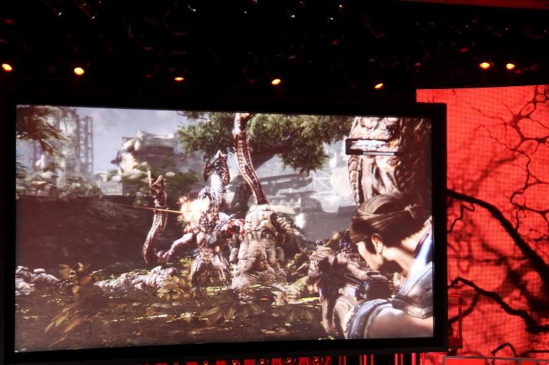 Gears of War 3 alla conferenza Microsoft - con video
