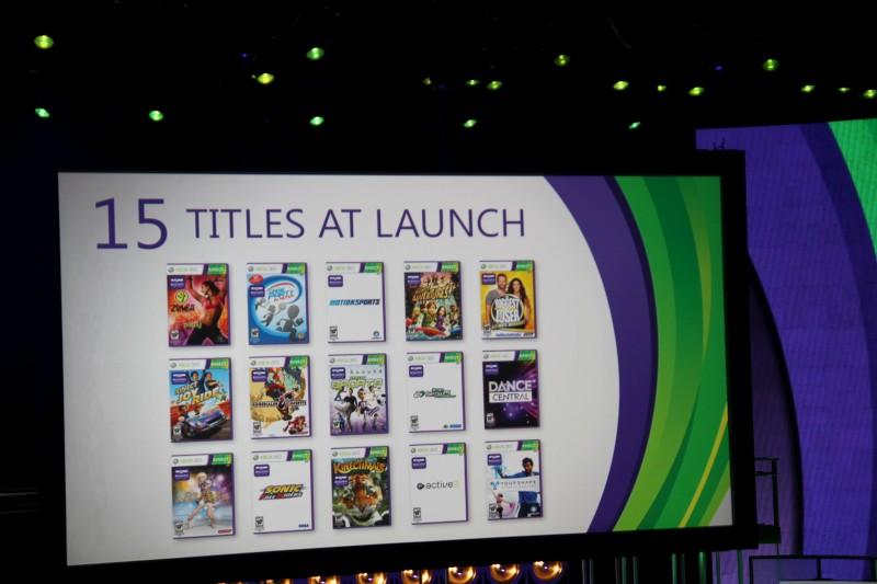 Kinect arriva il 4 novembre