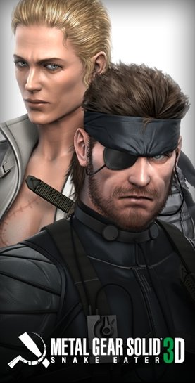 Metal Gear Solid: Snake Eater 3 su 3DS - immagini