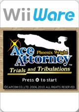 Phoenix Wright: Ace Attorney - Trials and Tribulations per Nintendo Wii