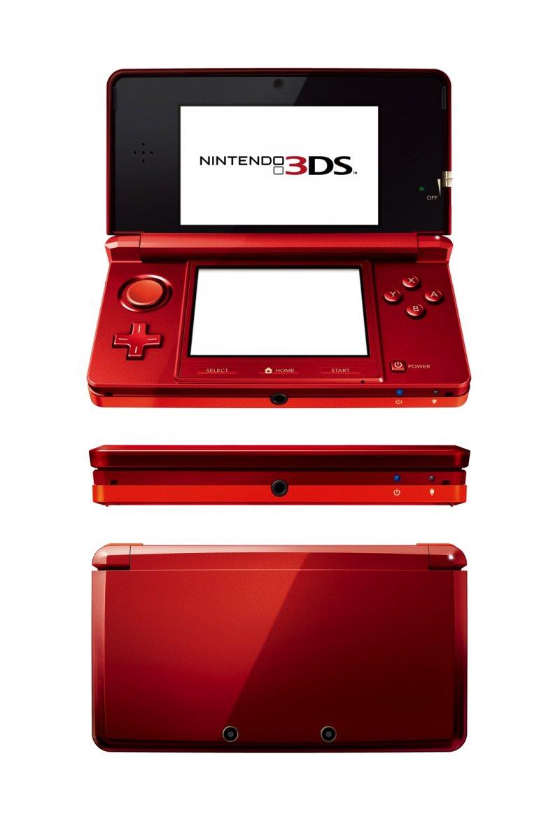 Dati ufficiali e immagini per Nintendo 3DS
