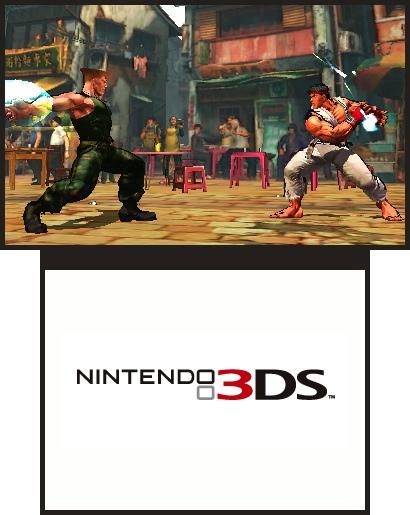 SSFIV doveva uscire su PSP e DS, su 3DS sarà fedele all'originale
