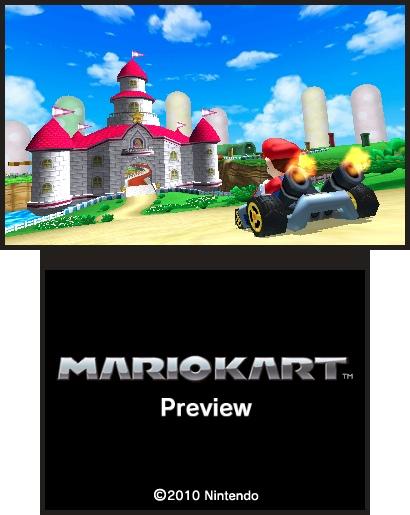 Mario Kart 3DS funziona bene, dice Miyamoto