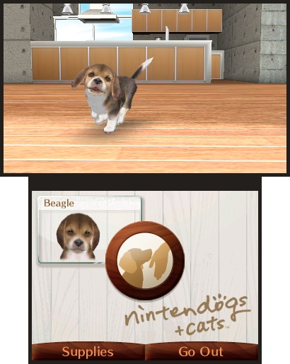 Nintendogs + Cats con Augmented Reality