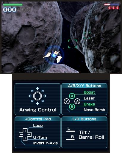 Qualche informazione su Star Fox 64 3D