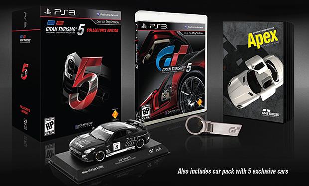 La collector edition di Gran Turismo 5