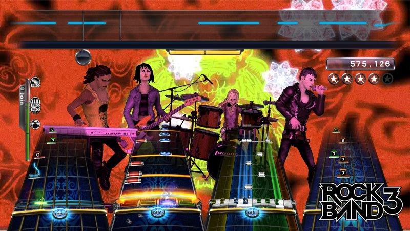 Rock Band 3 a fine ottobre in Europa