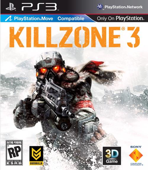 Il logo Move sulla copertina di Killzone 3
